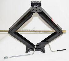 "One 30"" 5000 lb RV Scissor Leveling Jack Trailer  w/ CRANK HANDLE 1-30-50CR"