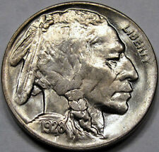 1928-D, Buffalo Nickel, MS+. FLASHY ++. EXCELLENT ORIGINAL!  SCARCE LOW COINAGE*