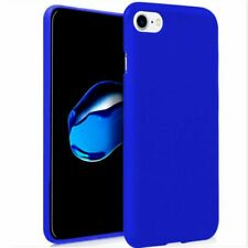 Funda Silicona color Azul para iPhone 6 / 6+ /6s / 6s+/ 7/ 7+/ 8 / 8 / SE(2020)