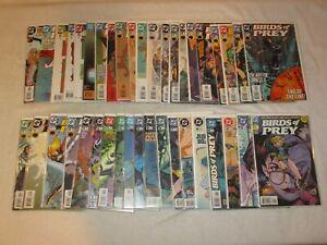 BIRDS OF PREY 1 2 3 4 5 6 7 8 9 10 (41 ISSUE LOT) DC COMICS 1999