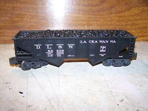 K LIne Lackawanna DL & W ribbed coal car 0-027