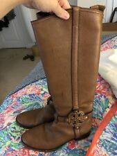 GUC Size 9 Tory Burch Riding Boots