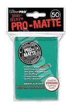 Pc - Ultra Pro Pro-matte Deck Protectors (50ct) Zzaqua/aqua