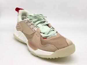 Nike Jordan Delta Vachetta Tan / Red Shoes CD6109-200 Men's Size 10