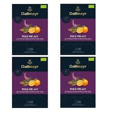 Pyramidentee Tulsi Relax Bio Gingembre - Orange 4 Thé Pack à 20 X 2,5g Dallmayr