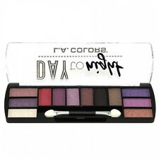 L.A. Colors Makeup Long Lasting Day to Night Eyeshadow Palette CES427 Twilight