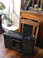 Vintage JVC RC-717LB RC717 Stereo Radio Cassette Recorder Ghettoblaster Boombox
