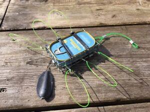 Crab Lobster & Crayfish Snare Trap Cage Pot Sea Pier Kayak Fishing Crabbing XL
