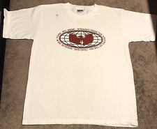 Vintage Wu Tang T Shirt 90s Rap Hiphop Wu Wear XL USA Rare 80s Fashion Method Ma