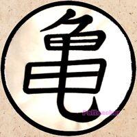 Master Roshi Turtle Symbol Big Patch Dragon Ball Z DBZ Vegeta Goku Embroidered