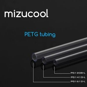 Mizucool 5 x PETG Tube 500mm Tube Size 14mm OD For Water Cooling