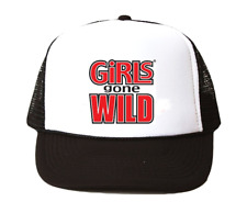 vintage Girls Gone Wild hat Trucker Hat mesh hat black New