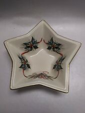 Lenox American by Design Winter Greetings Star Bowl Candy Dish ~ New