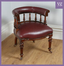 Leather Armchairs Victorian Chairs (1837-1901)