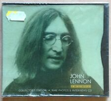 JOHN LENNON / IN HIS LIFE - CD + photo book (printed in Holland 1996) RARE