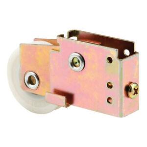 Slide-Co 161771 Mirror Door Roller Assembly, 1-1/2-Inch Nylon Ball Bearing Wheel