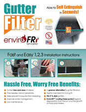 "Gutter Guard Foam Gutter Filter - 5"" K-Style  168ft. with  Free Del. $1.49ft"
