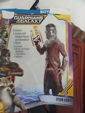 Guardians of the Galaxy Star Lord Child's Halloween Costume Boys Sz Small 4-6