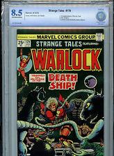 Strange Tales #179 Warlock Marvel Comics CBCS 8.5 VF+ 1975