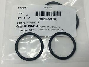 Subaru Impreza WRX STi TURBO Water Transfer Pipe O-Ring SET 2 806933010 Genuine