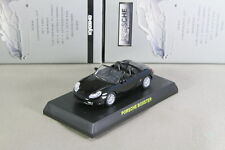 Porsche BOXSTER 986 Black 1/64 Kyosho Minicar Collection Japan Limited 2006