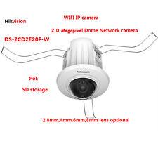 Hikvsion DS-2CD2E20F-W 2MP CMOS WIFI IP Dome camera PoE IR-cut security camera