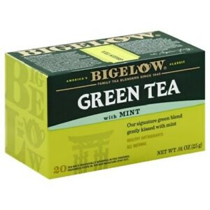 Bigelow Green Tea with Mint