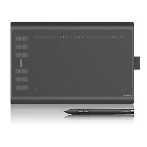 Generalüberholt Huion New 1060 PLUS Grafiktablett Zeichentablett Tablet 12 Keys