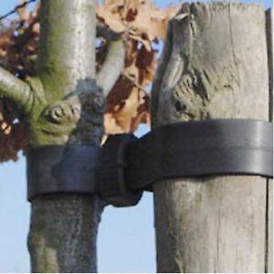 Yuzet Heavy Duty garden Buckle tree ties Straps Support tie rubber last years