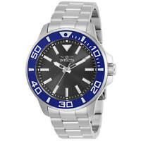Invicta Men's Watch Pro Diver Quartz Silver Stainless Steel Bracelet 30745
