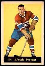 1960-61 PARKHURST CLAUDE PROVOST MONTREAL CANADIENS #54 JM