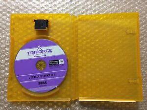 "Virtua Striker 4 Sega Triforce GD ""No Flyer"" Arcade Game Japan"