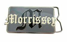 Morrissey Old English Rectangle Logo Belt Buckle New Official Metal Band Smiths