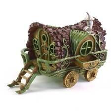 Fiddlehead fairy garden - Gypsy Wagon/Caravan
