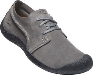 Keen Herren Sneaker Howser Suede Leder Oxford 1024948 Grau Schwarz