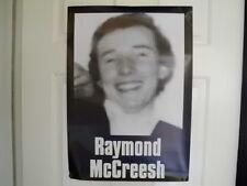 IRISH REPUBLICAN ORIGINAL LARGE RAY MCREESH HUNGER STRIKER POSTER LONG KESH 1981