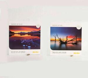 NiSi 150x150mm Nano IR ND filter +150x170mm Nano IR GND filter 2 PCS Filters Kit