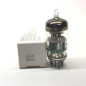 6922  JAN 6922  ECC88  NOS  Philips ECG USA Valve Tubes