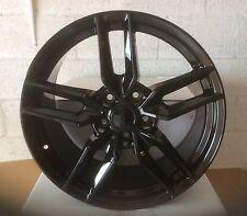 """Stingray Corvette C7R 19 20"""" for C7 2014-19 gloss black wheels rims"""