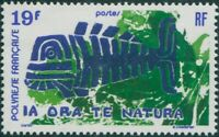 French Polynesia 1975 Sc#286,SG199 19f Nature Protection MLH