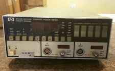 Hewlett Packard 8152A Optical Average Power Meter
