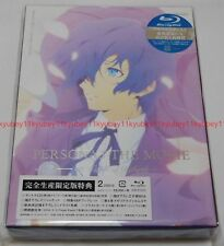 Persona 3 The Movie #4 Winter of Rebirth Limited Edition Blu-ray CD Book Japan