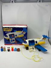 VTG Fisher Price Little People Play Family Jetliner Jet Airplane 2360 IN BOX