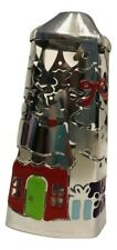 Bath & Body Works Soap Sleeve Holder Silver Christmas Tree and Gifts Silver