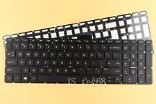 New for HP home 17-ak000 17-bs000 17g-br000 Keyboard US Black Backlit NO Frame