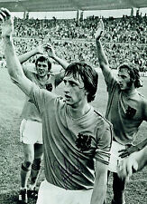 Johan CRUYFF Signed Autograph Dutch HOLLAND 16x12 Photo AFTAL COA Total Football