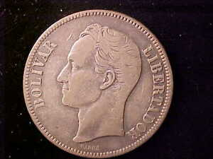 VENEZUELA 5 BOLIVARES 1903