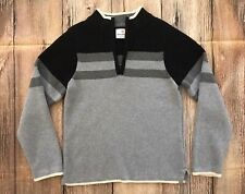 Hanna Andersson Boys Striped Cotton Pullover Sweater - Size 120 (6/7) NEW