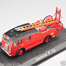 Atlas 1/72 Scale Dennis F 12 Vehicle Fire Truck Model Alloy Diecast Car Toys