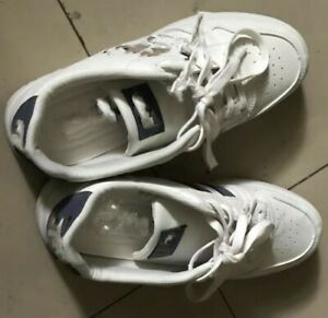 Summer men's fashion shoes thin breathable small white shoe size 8.5